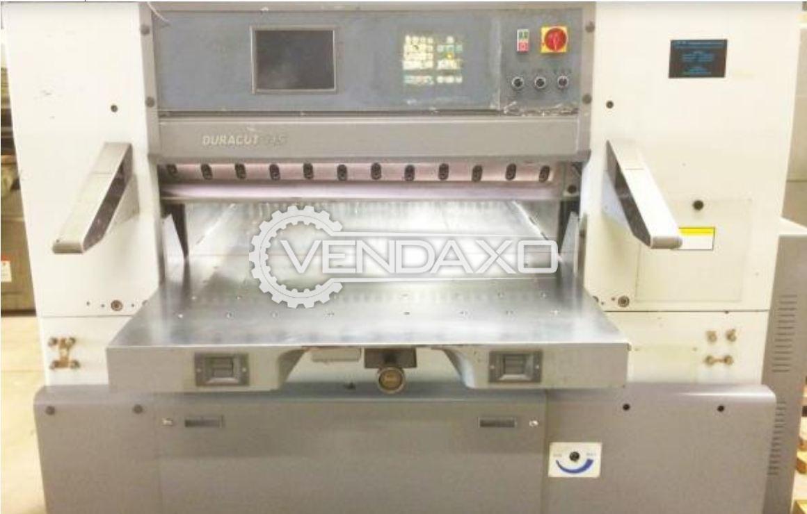 DURACUT 115E Paper Cutting Machine - 45 Inch