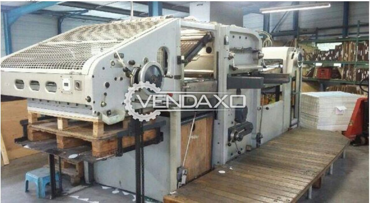 BOBST SP 1080E Automatic Punching Machine - 28 x 40 Inch