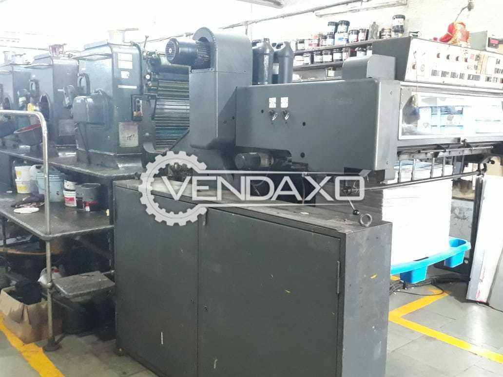 Heidelberg SM102 V Offset Printing Machine - 28 x 40 Inch , 4 Color