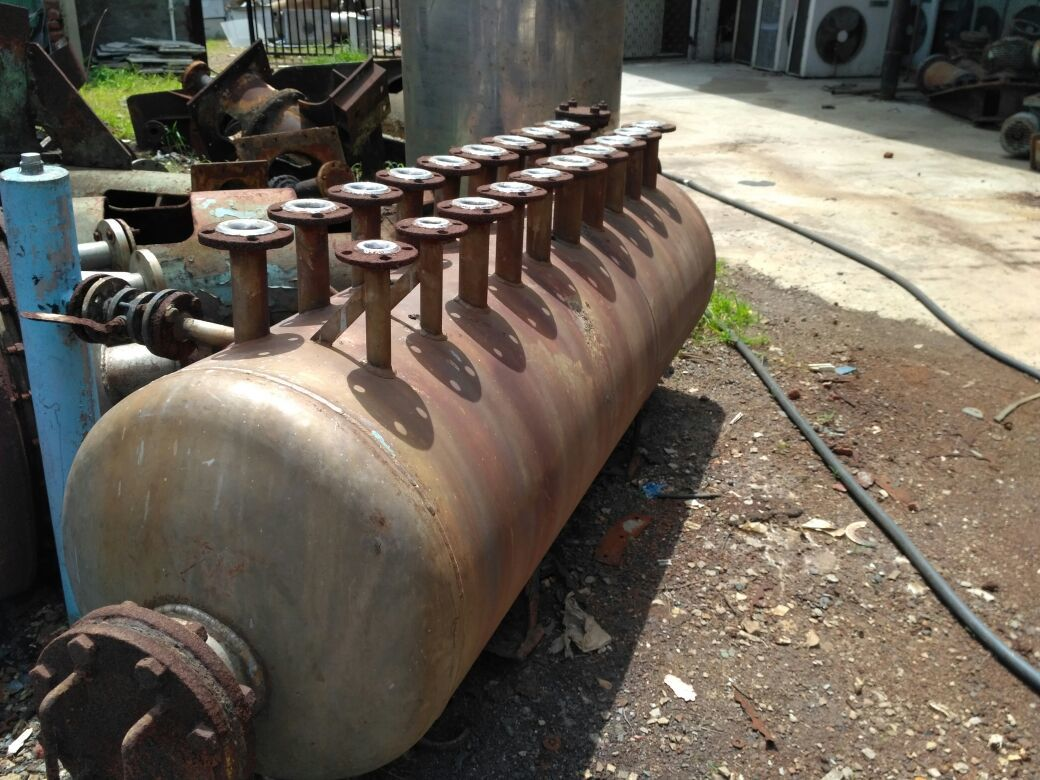 Reactor with flange 1