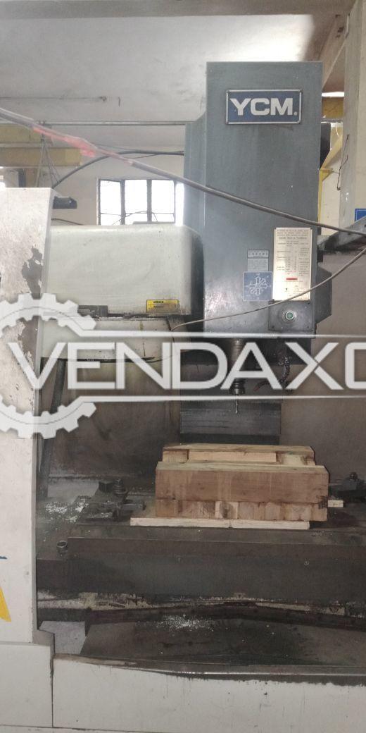 YCM AV106A CNC Vertical Machining Center