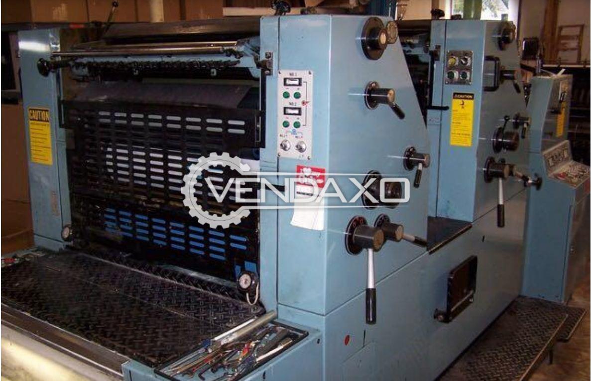 SAKURAI 272 Offset Printing Machine - 20 x 28 Inch