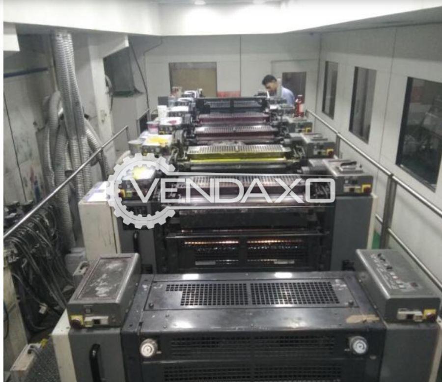 KOMORI LITHRONE 628+L Offset Printing Machine - 20 x 28 Inch