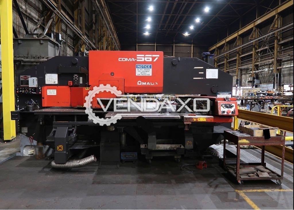 AMADA COMA 567 CNC Turret Punch Press - 50 Ton
