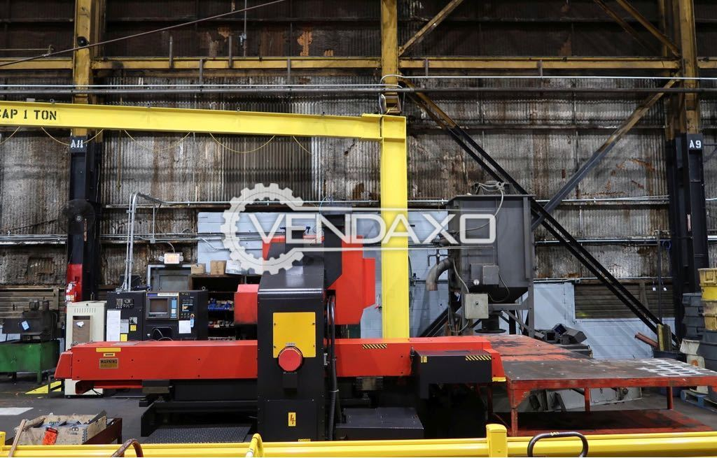 Used AMADA COMA 567 CNC Turret Punch Press - 50 Ton for Sale