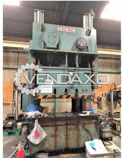 Wasino CX2-150SA  Double Crank Gap Frame Press - 150 Ton