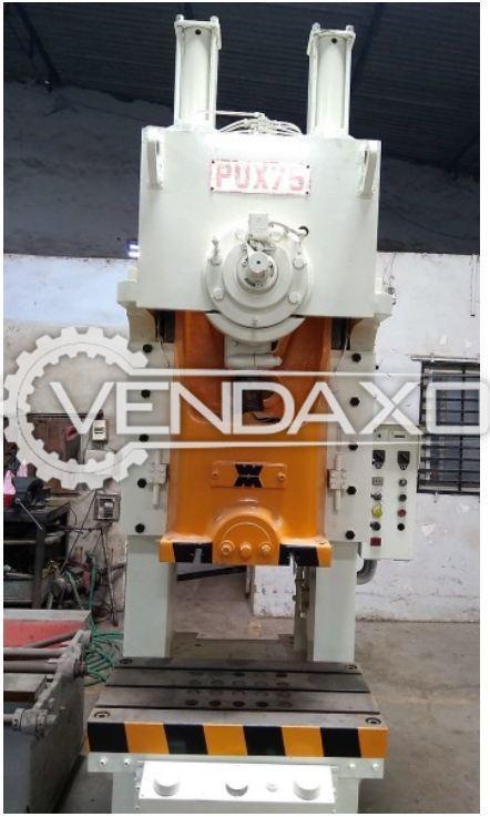 WASINO PUX-75L 'C' Frame Press - 75 Ton