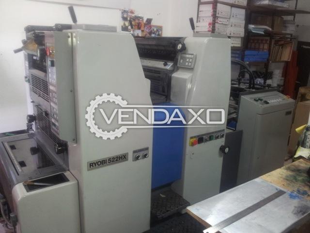 RYOBI 522-HX Offset Printing Machine - 36 X 52 CM , 2 Color