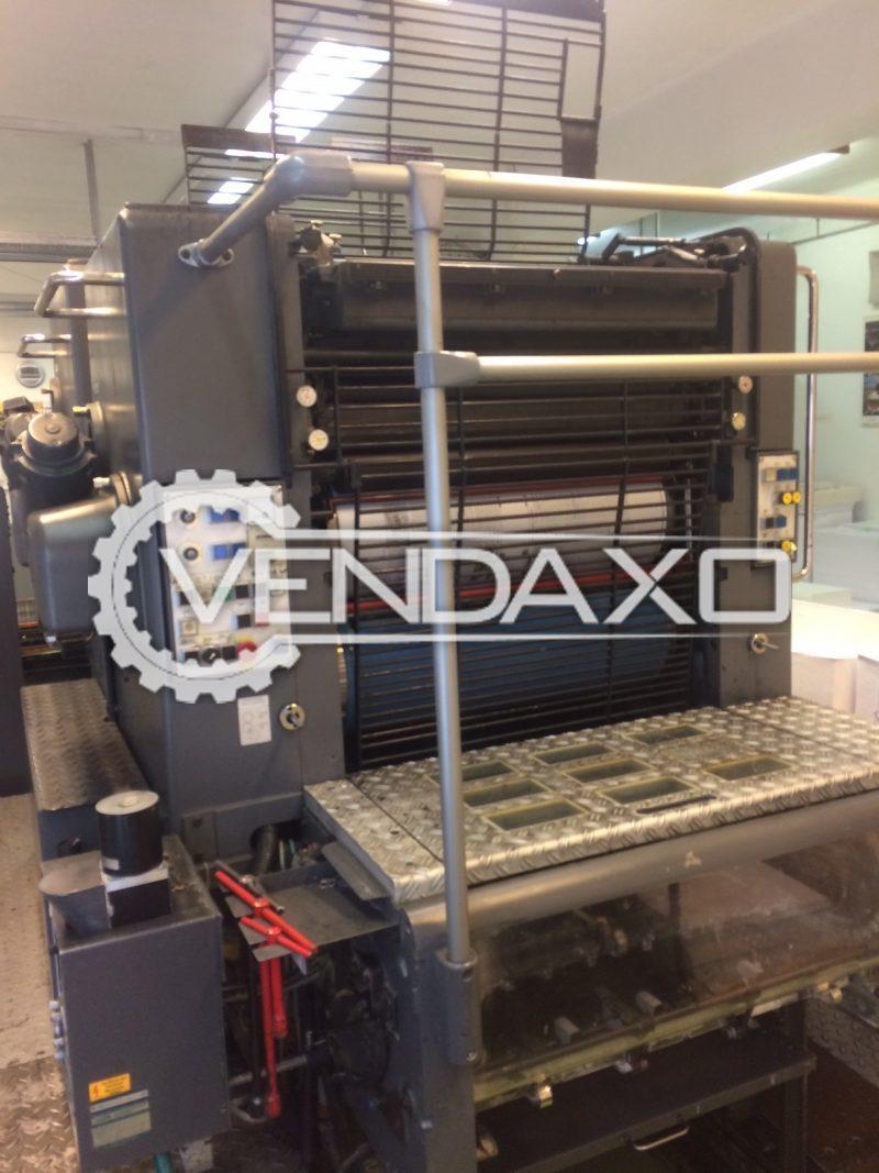 HEIDELBERG SORMZ Offset Printing Machine - 520 x 740 mm , 2 Color