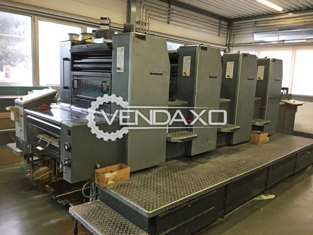 HEIDELBERG SM 74-4-P-3 Offset Printing Machine - 52 x 74 CM , 4 Color
