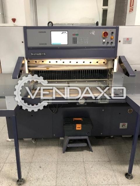 GUILLOTINA GUOWEI 115-X Paper Cutting Machine