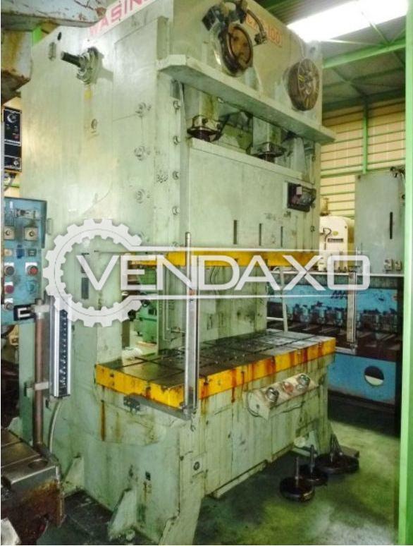 WASINO CX2-100 Double Crank 'C' Type Press - 100 Ton