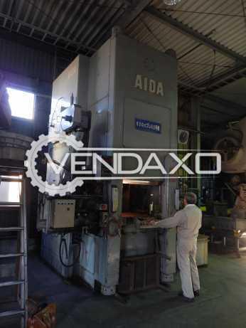 AIDA Cold Forging Press - 630 Ton