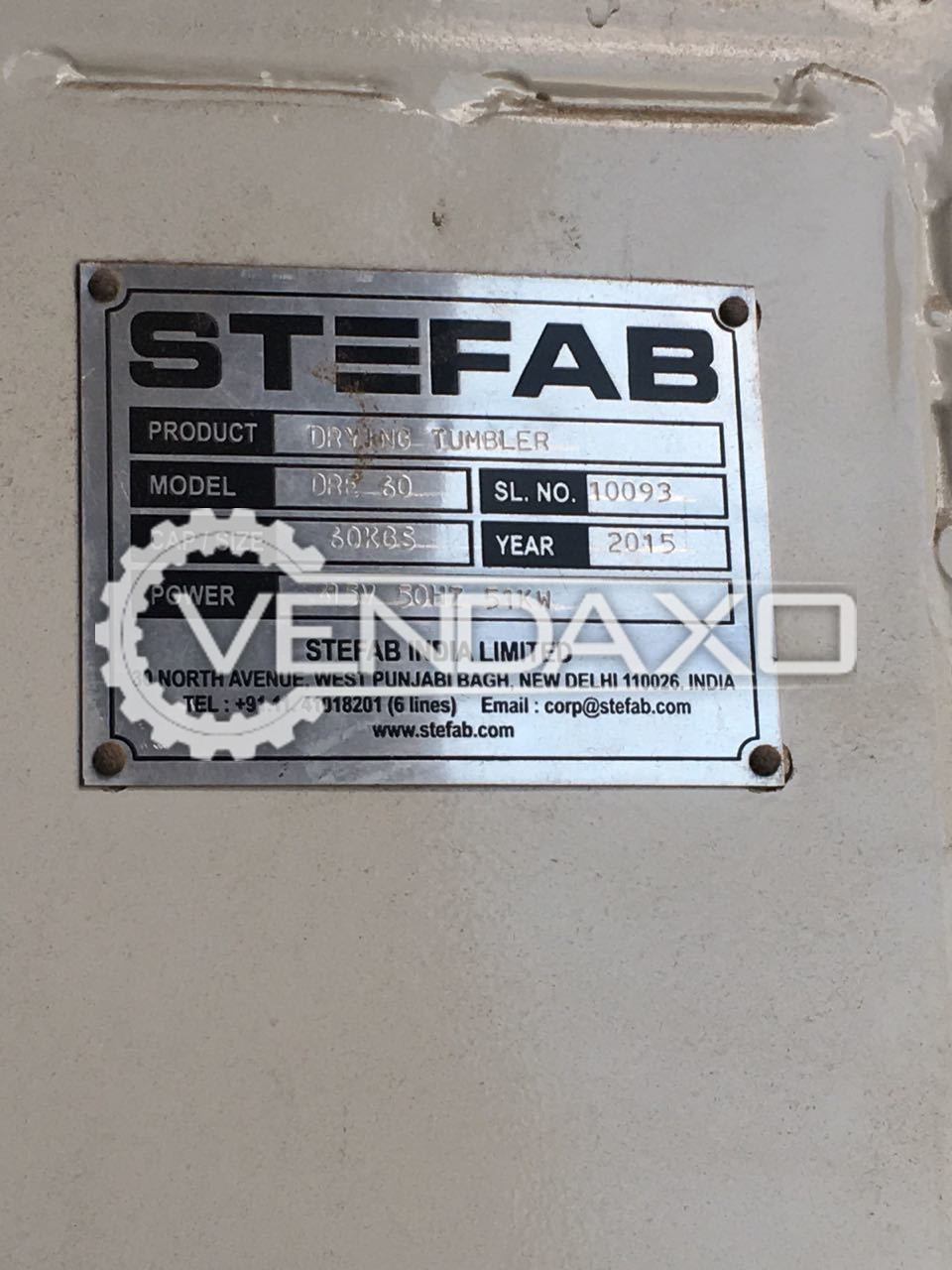 STEFAB DRE 60 Washer Extractor