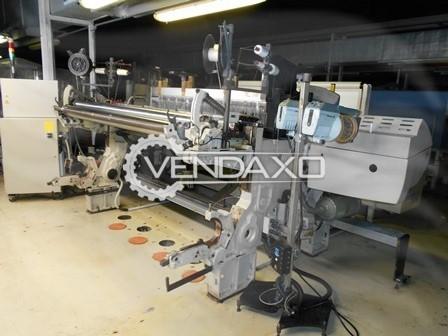 Picanol N6873/R6-30 Gammax Rapier Loom Machine - 190 CM , 2 Color