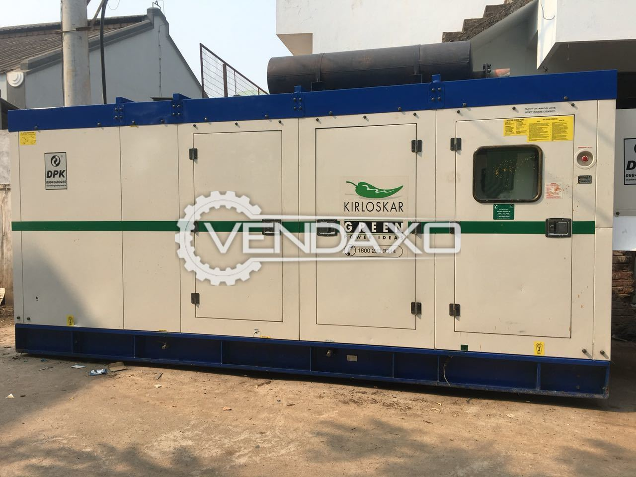 Kirloskar Diesel Generator - 200 Kva With Trolly