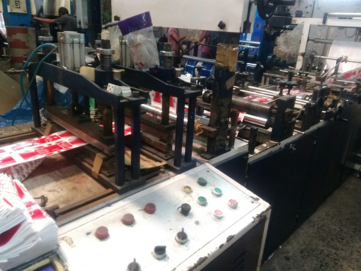 Mamta pouch marking machine 4