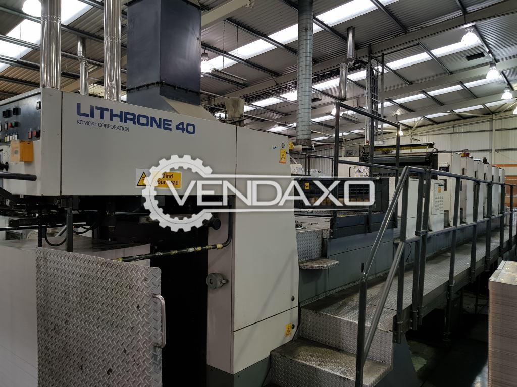 Komori L640 LX DU Printing Machine - 28 x 40 Inch , 6 Color