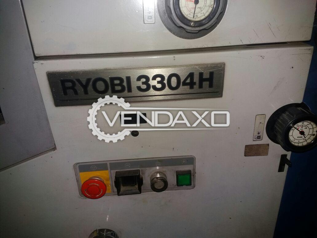 Ryobi 3304 H Printing Machine - 13 x 18 Inch , 4 Color