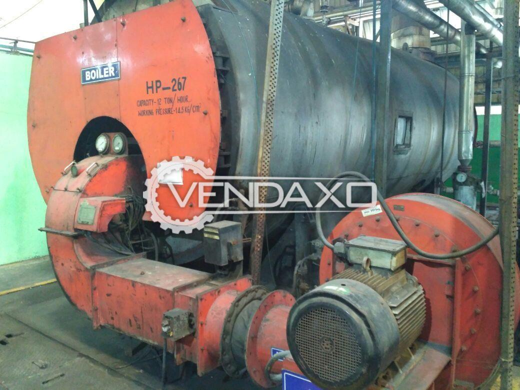 12 TPH Furnace Oil boiler