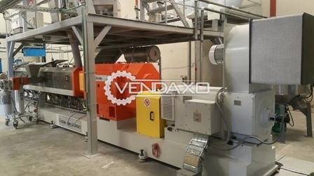 Plastic Compounding Extruder Machine
