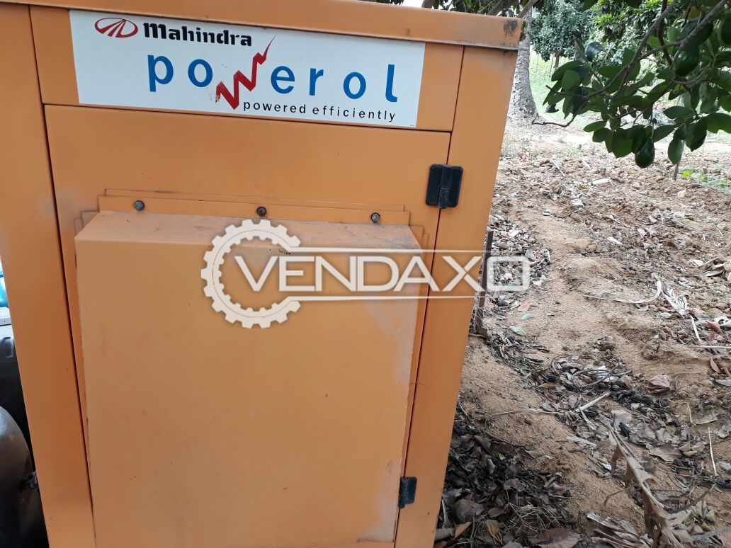 Used Mahindra Diesel Generator - 20 Kva for Sale at Best