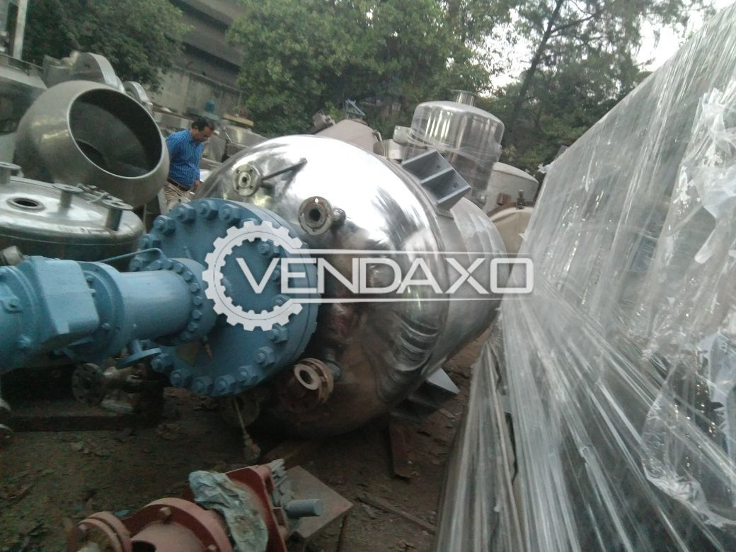 SS Auto Clave High Pressure Reactor - 6 KL