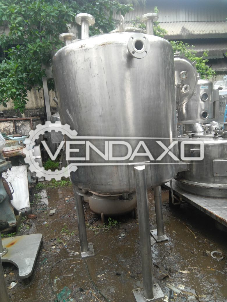 SS Receiver - 1200 Liter