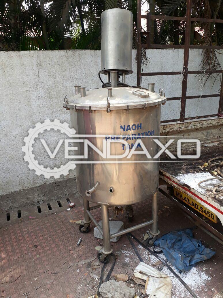 Syrup Mixing Tank