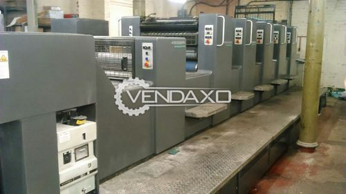 Heidelberg Sm 74 5h L Offset Printing Machine - 20 x 29 Inch , 5 Color
