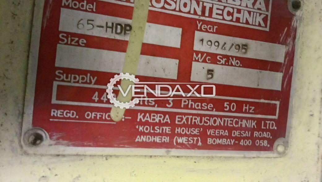 Kabra Extruder - 65 mm