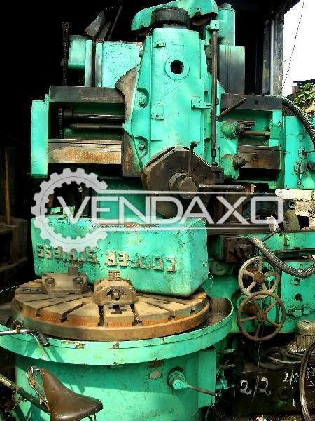 Cooper Vertical Turret Lathe Machine - 1200 mm