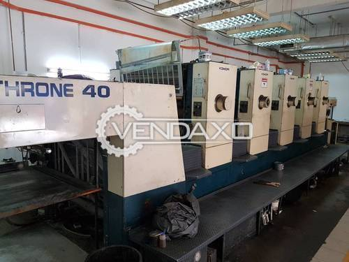 Komori Lithrone L540 Offset Printing Machines - 28 x 40 Inch , 5 Color