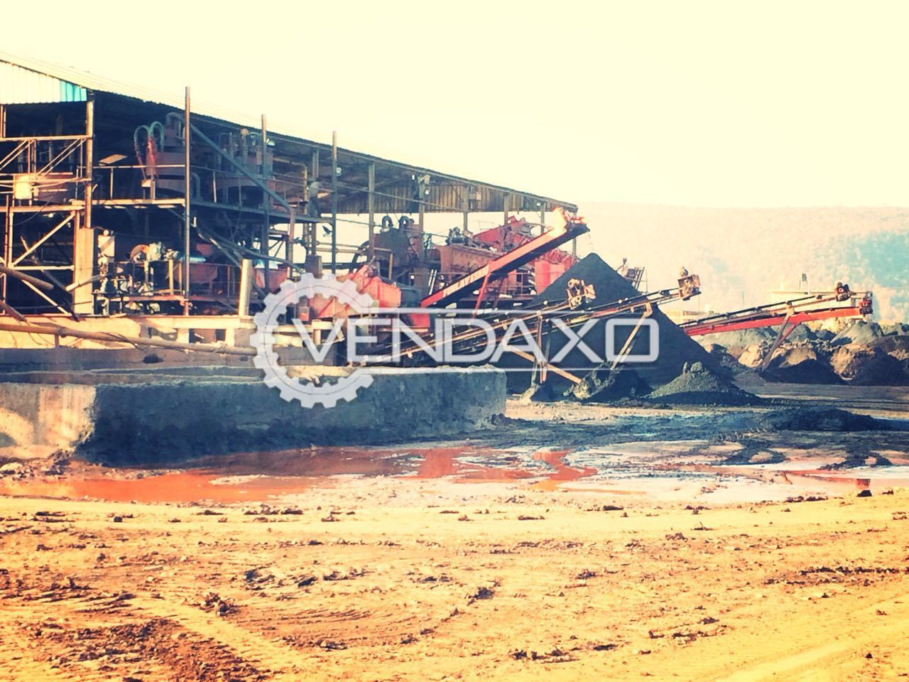 IRON ORE WASHING Complete Plant and Machinery - 100 TPH