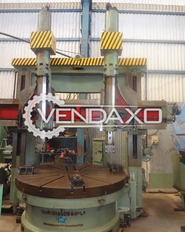 RICHARD Vertical Turret Lathe (VTL) - 2500 mm