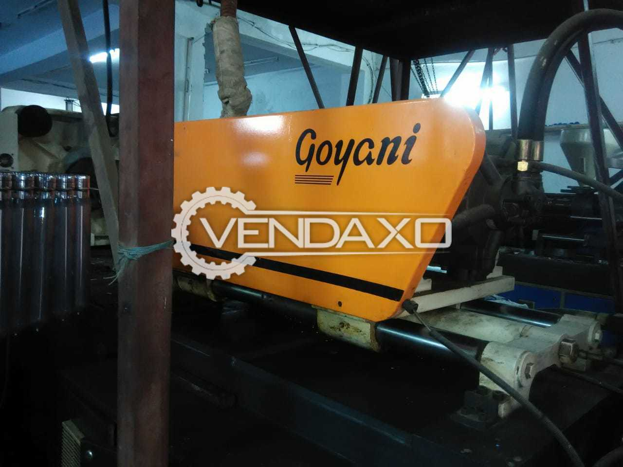 GOYANI GM-250 PET MOULDING MACHINE - 250 Ton