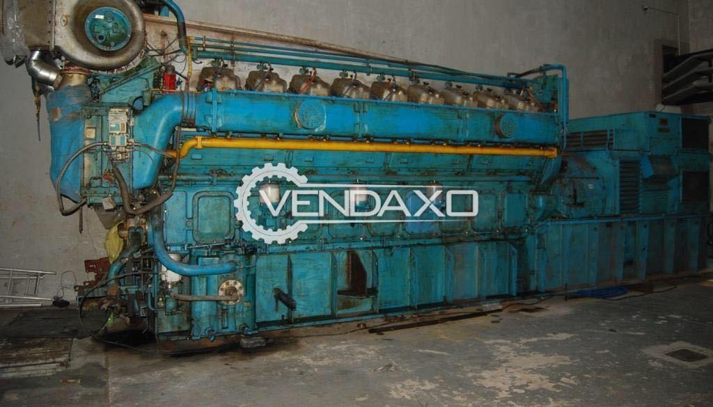 Leroy Somer IEC 34 AC Generator - 3400 KVA , 3060 kW