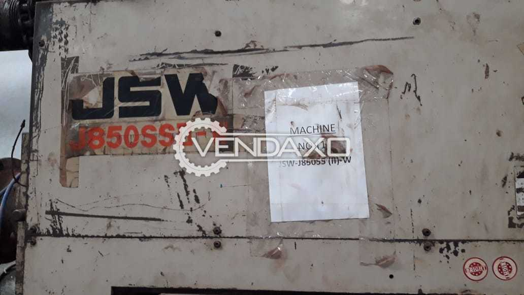 JSW J850SSII-W Injection Moulding Machine - 850 Ton
