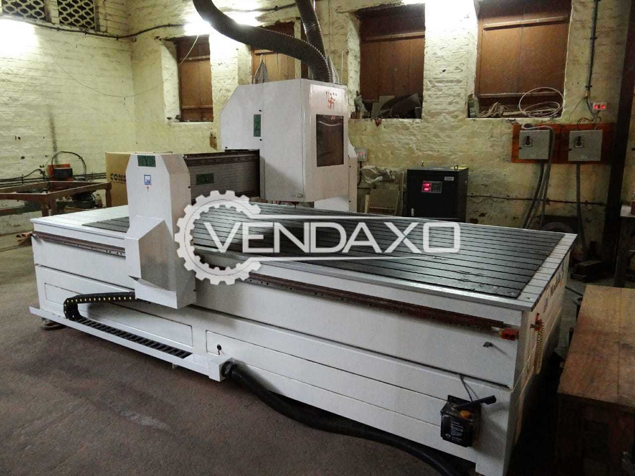 Available For Sale CNC Router , Rotary Attachment , Artcam Insignia 2D-3D and Stabilizer