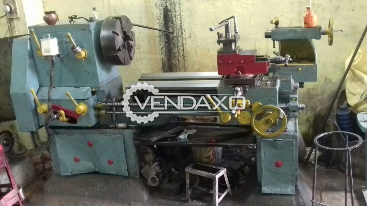 Nutan Lathe Machine - 8 Feet