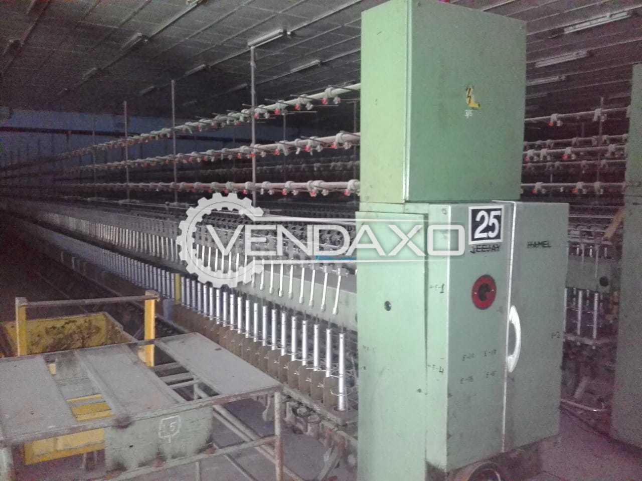 Cotton Spinning Machinery Plant - 64000 Spindle