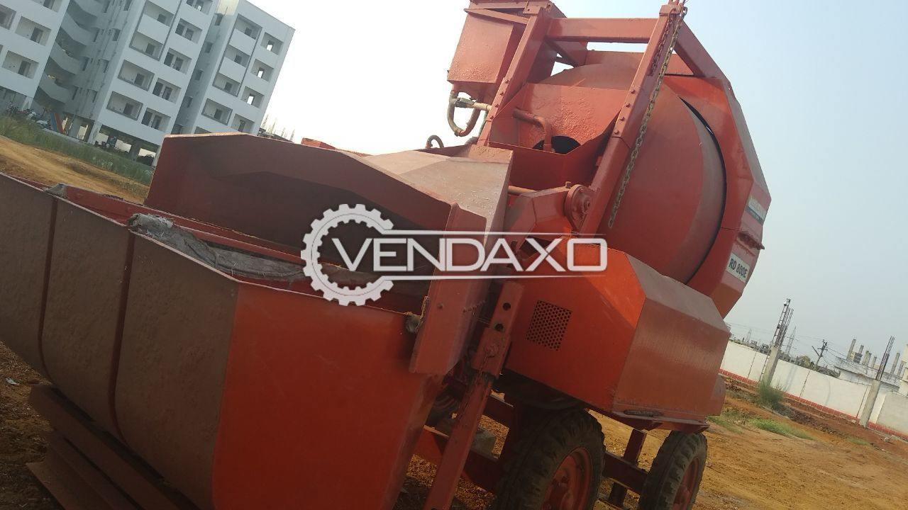 ESquire RD 800E(electrical) Concrete Mixer - 3 Bag Mixer