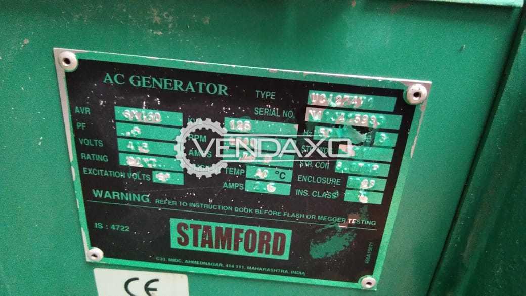 CUMMINS Diesel Generator - 125 KVA