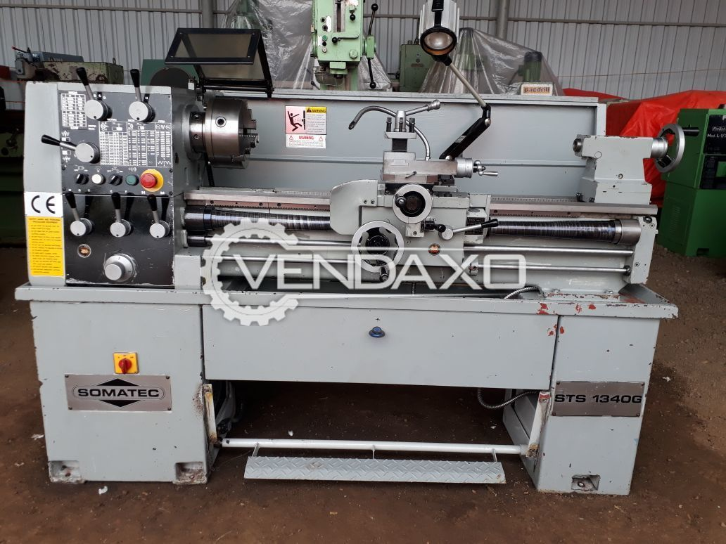 SOMATEC Lathe Machine - 1000 mm