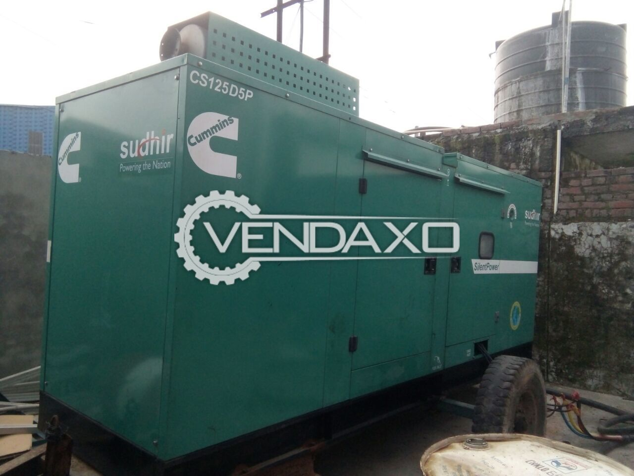 CUMMINS - Sudhir Diesel Generator - 125 Kva