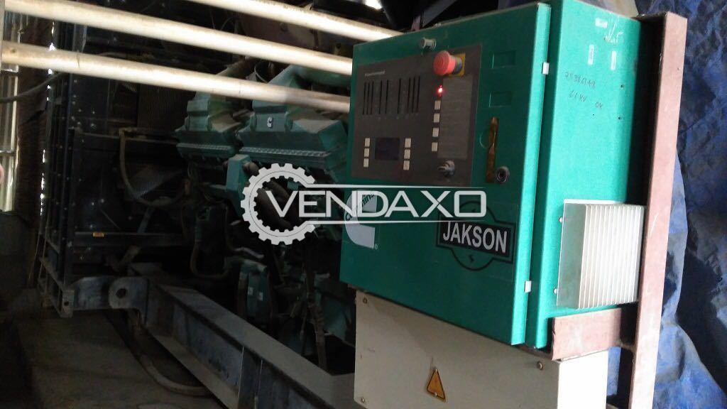 CUMMINS Diesel Generator - 2250 KVA , 2011 Model
