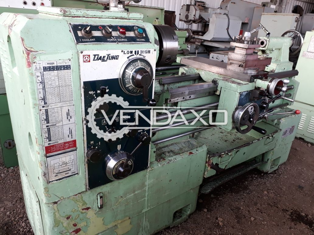 DaeJung Lathe Machine - 1000 mm