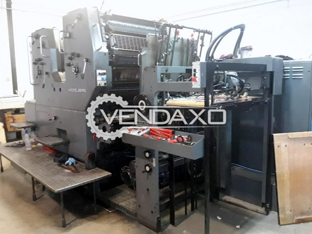Heidelberg SORMZ Offset Printing Machine - 20 x 29 Inch , 2 Color
