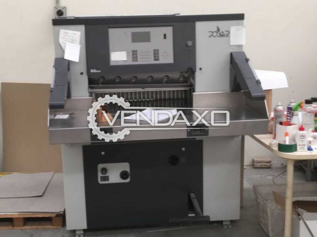 Polar 66 Eco Paper Cutting Machine - 26 Inch