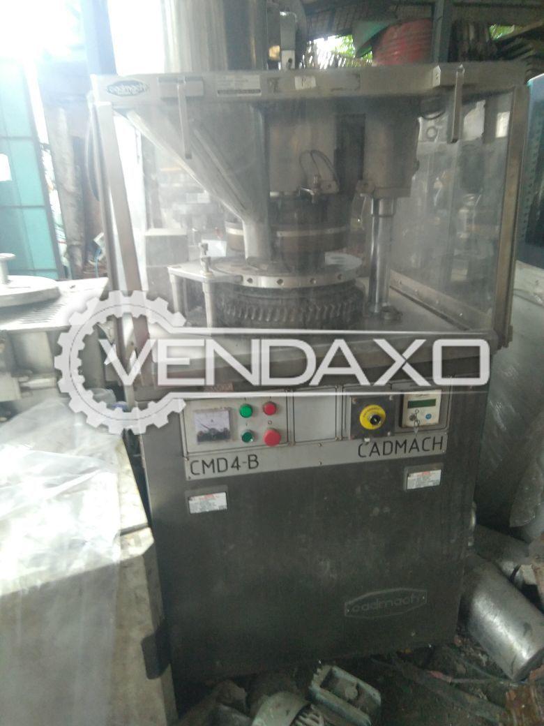Cadmach D Tooling Machine